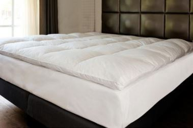 Bed 210 160.Featherbed Mattress Topper 180 X 210 Cm Kingdom Hotel Supplies