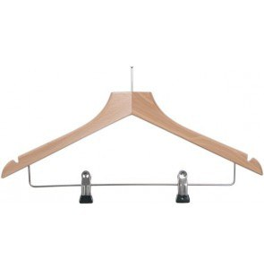 Hotelroom hanger anti theft and clips