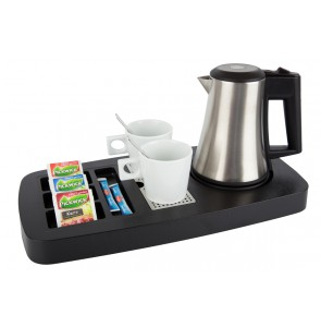 Hospitality tray black ABS