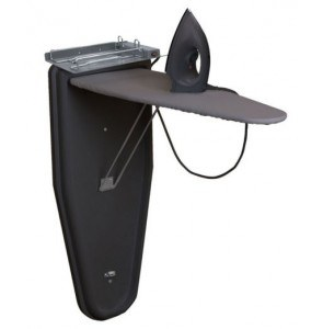 Compact Ironing centre wallmounted dry iron