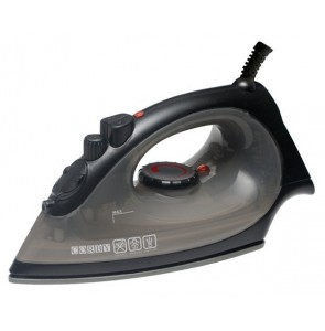 Steam iron black