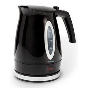 Waterkettle black 1 liter