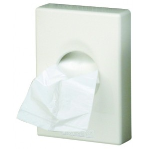 Hygiene bag dispenser White
