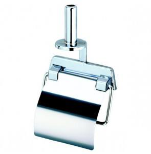 Toilet roll holder with spare roll holder