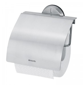 Toilet roll holder matt Stainless Steel