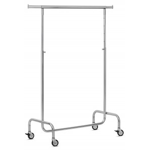 Clothes racks include wheels 85kg