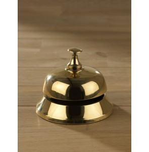 Reception bell brass