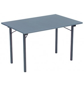 Foldable table with U-shaped base