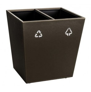 Leather waste bin - waste separation