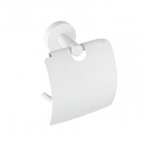 Paper holder with cover white