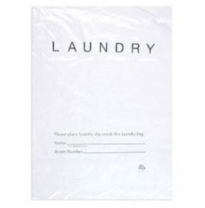 Laundry bag plastic