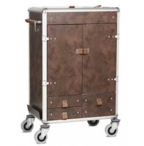 Luxe Housekeeping Trolley Gulliver