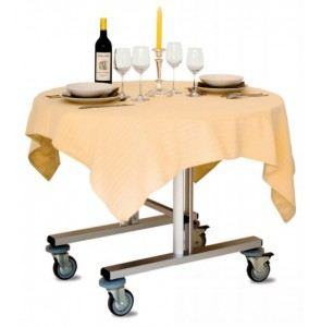 Roomservice Trolley Lagoon met warmhoudbak